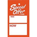 Unstrung Ticket, Special Offer / Was / Now, Pack of 500